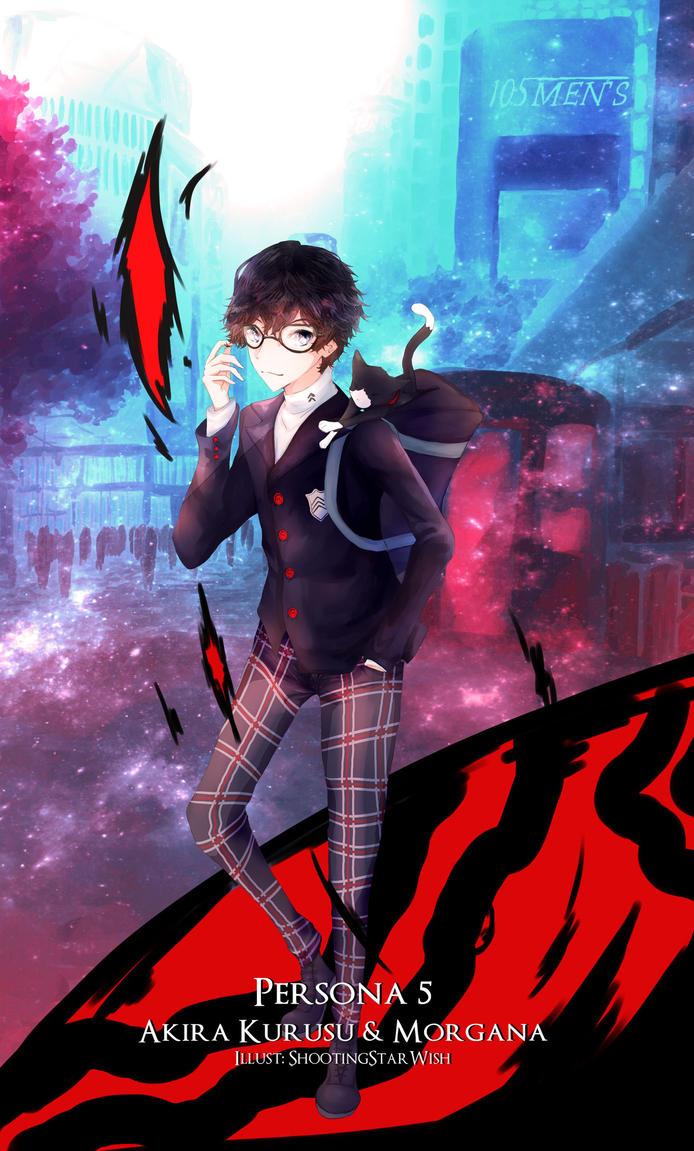Persona 5 by ShootingStarWish