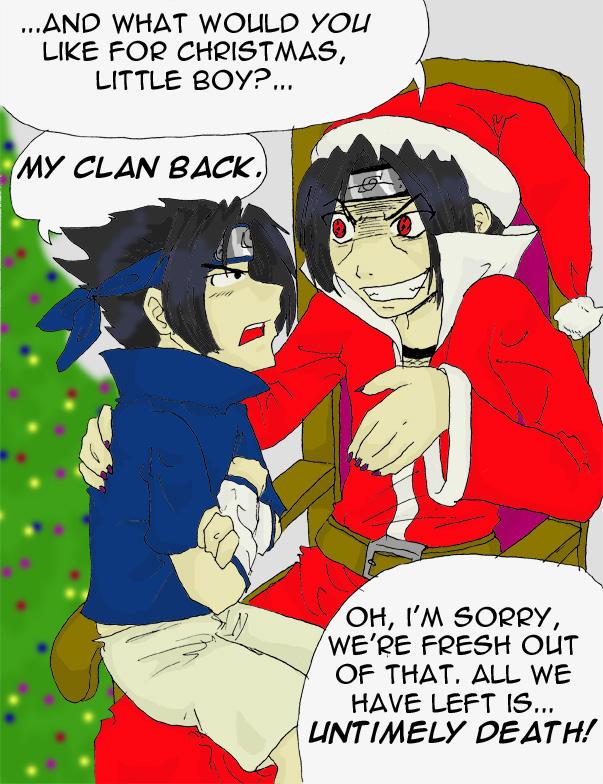 Very Uchiha Christmas by Animeshen