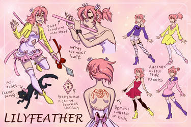 Lilyfeather 17 by Animeshen