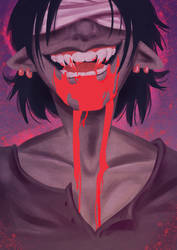 Vampire Teeth by Animeshen
