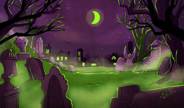 Layout Design- Graveyard