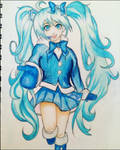 Old drawing - Hatsune Miku