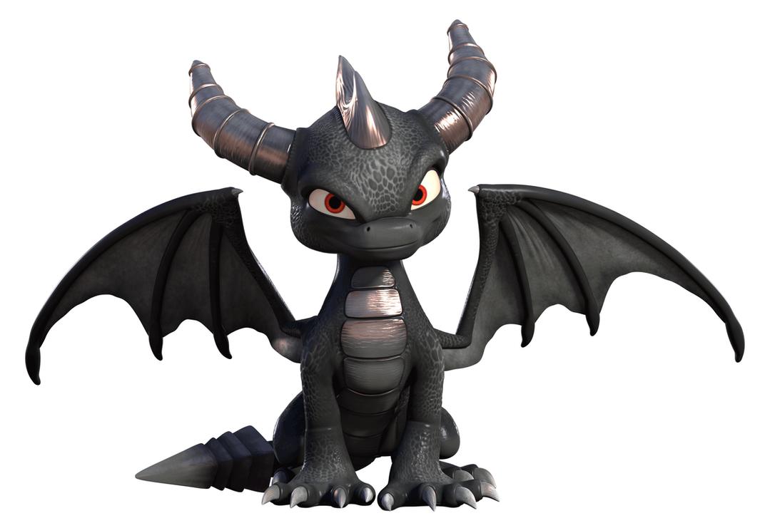 Dark Spyro from Academy by HotArt01