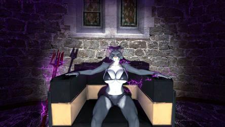 Mauva on her Throne