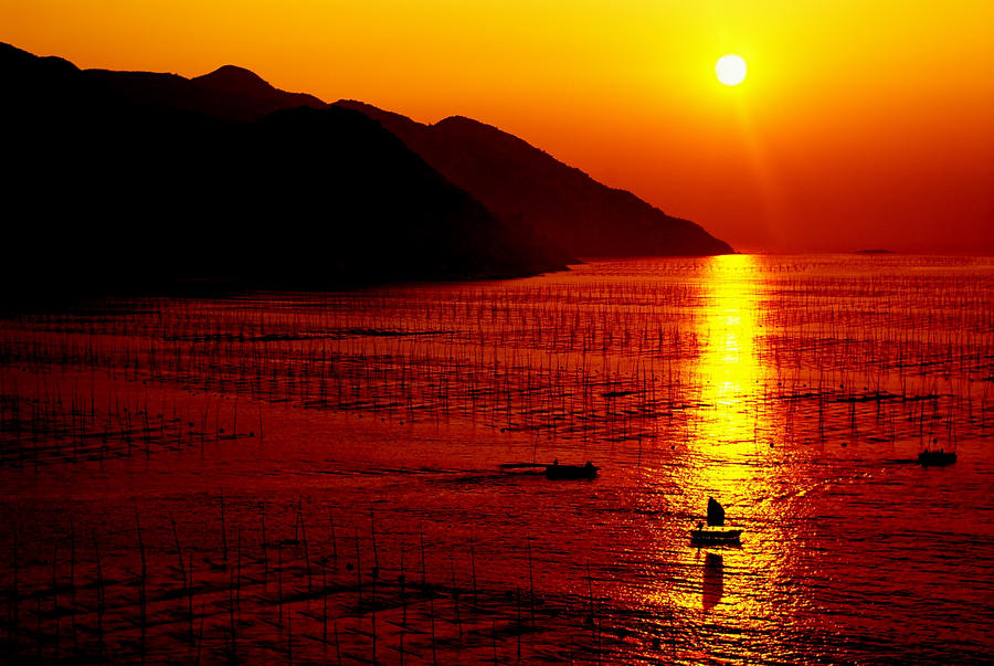Sunrise over Xiapu, China by Iancaus2001