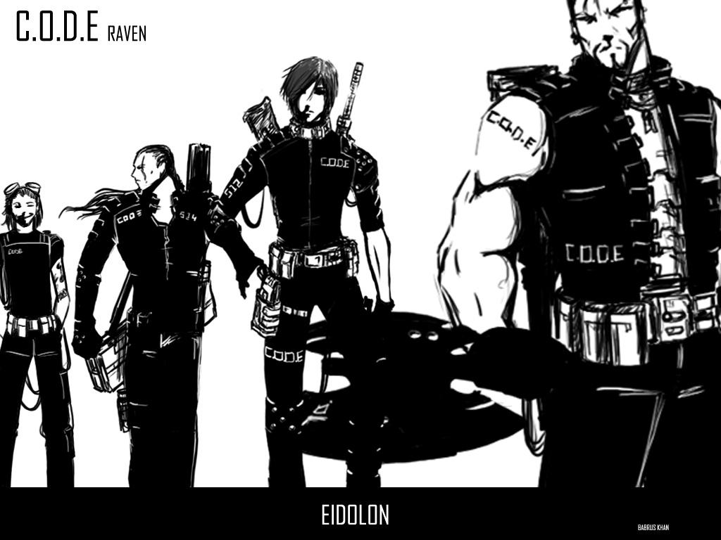 Eidolon Code Raven by TheBabman