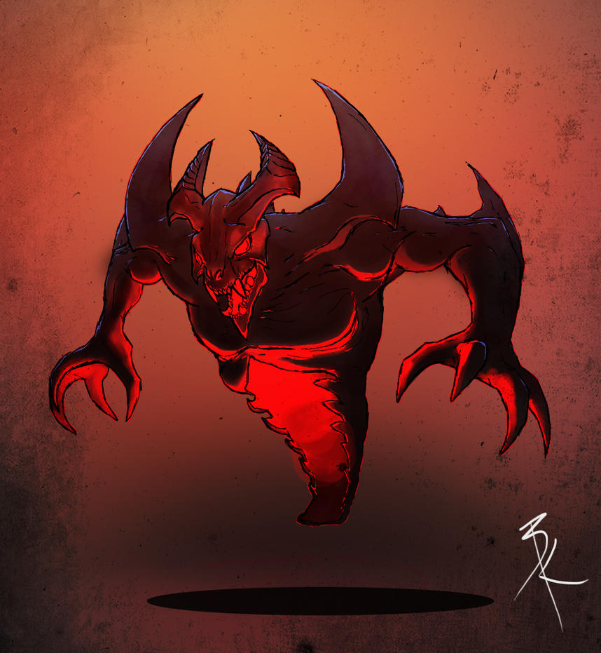 Nevermore The Shadow Fiend By TheBabman On DeviantArt
