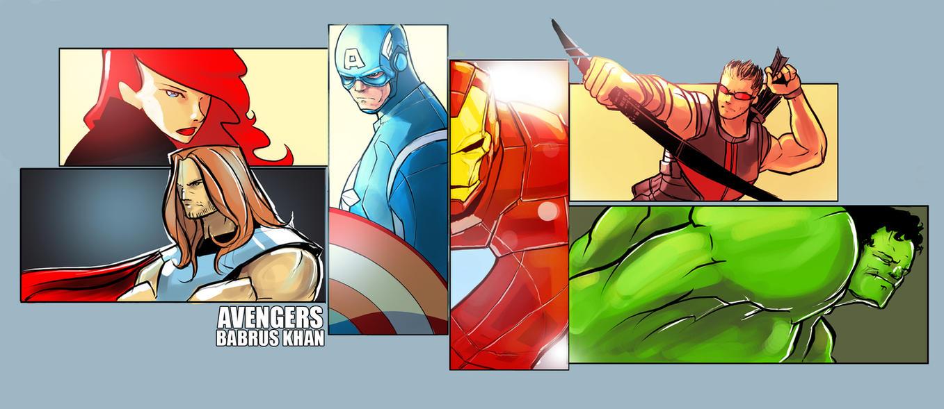 Avengers fanart by TheBabman