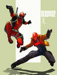 Redhood and Deadpool