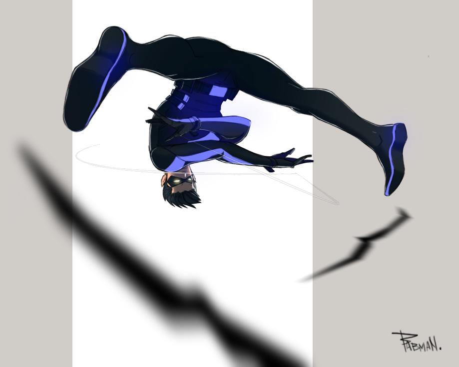 Nightwing by TheBabman