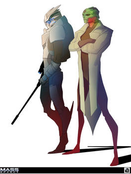 Garrus and Thane