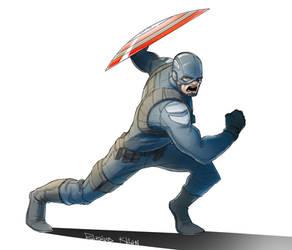 Captain America by TheBabman