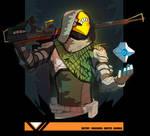 Hunter from Destiny 2