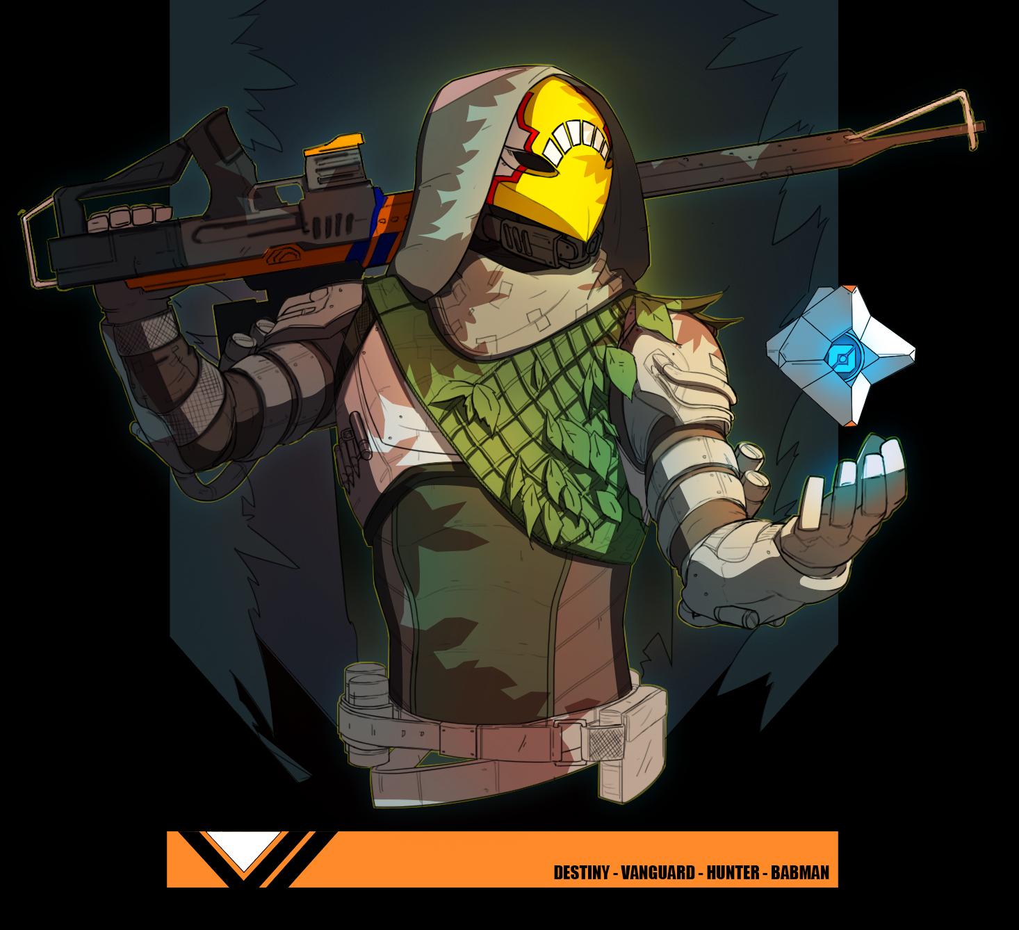 Hunter from Destiny 2 by TheBabman on DeviantArt