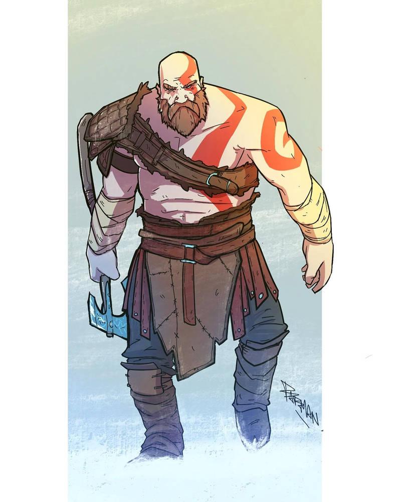 Kratos by TheBabman