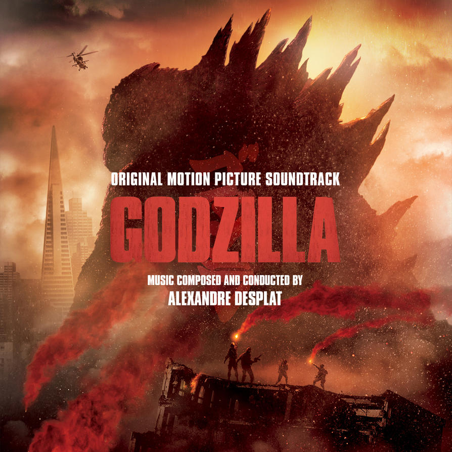 Godzilla 2 Imax Poster Textless: Godzilla OST Custom Cover #3 By Anakin022 On DeviantArt