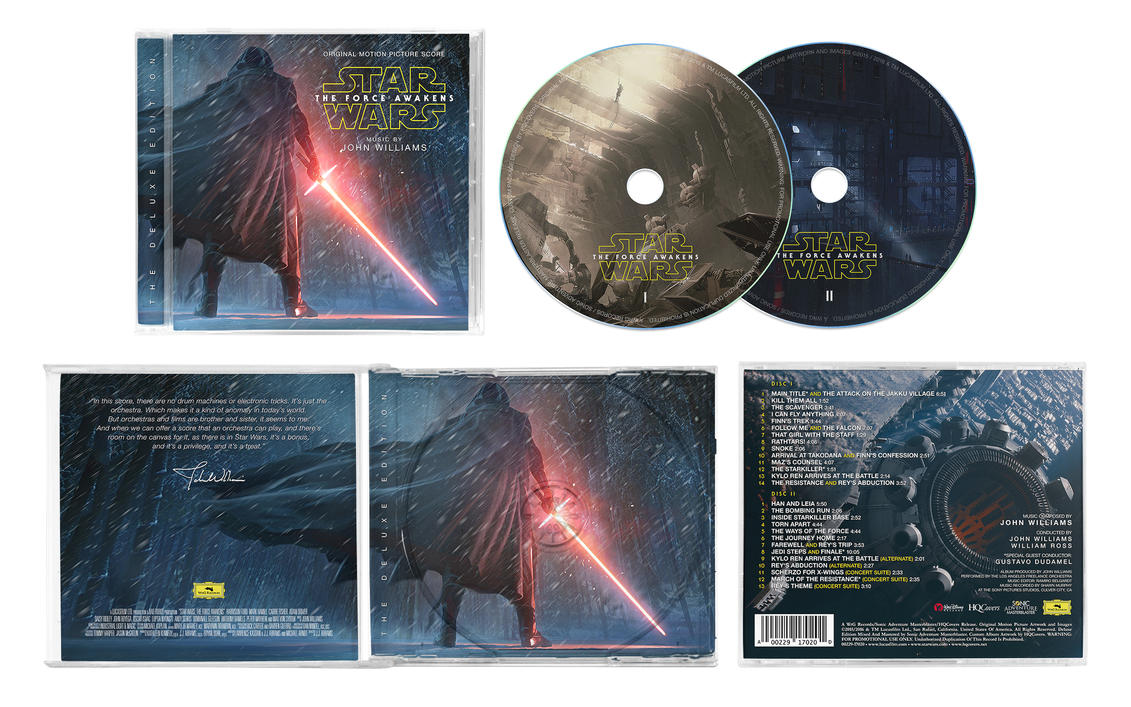 Star Wars: The Force Awakens (Deluxe Edition) #6 by anakin022