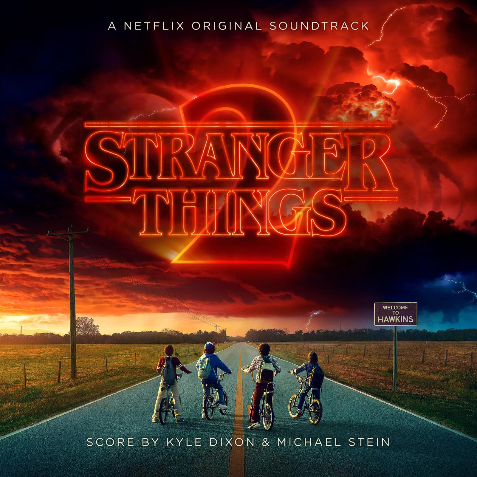 Stranger Things 2 OST Custom Cover (CD)