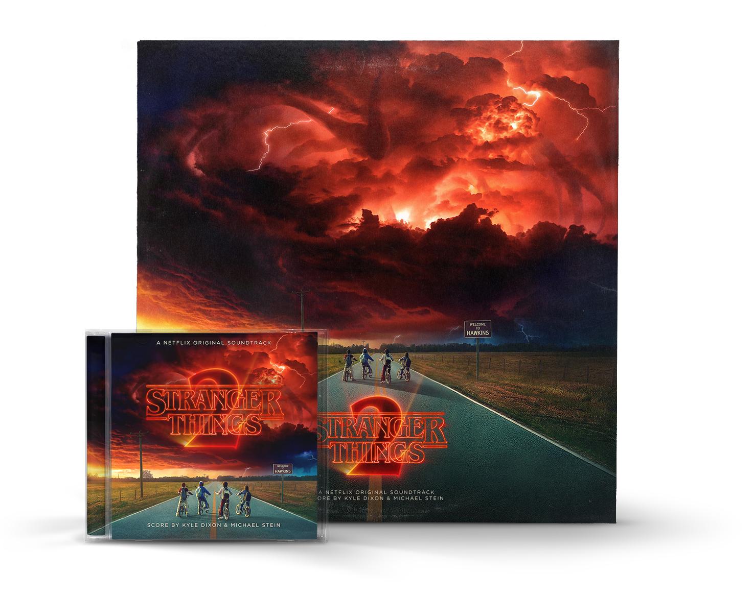 Stranger Things 2 OST Custom Cover (Mockup)