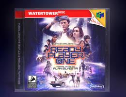 Ready Player One Soundtrack Mockup