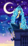Blue night by Ashdei