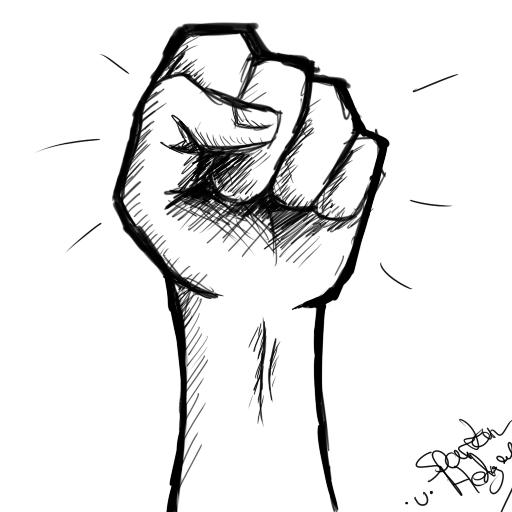 Revolution fist by SpartanHedgey on DeviantArt