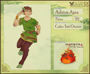 Grimm Almaria - Adrius Ajax by tsun-mxx