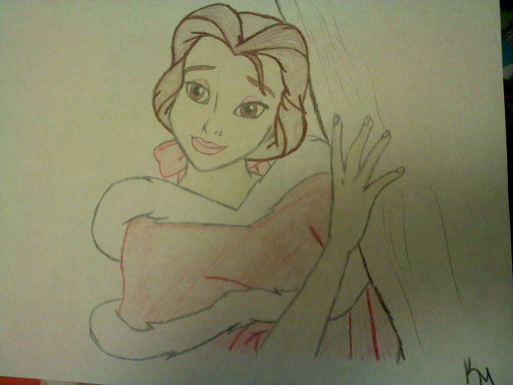 Belle  drawing by k-baby-bug