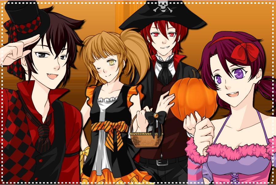 FNAF Wallpaper 2 (Halloween Special) by DarkWolfSFM on DeviantArt