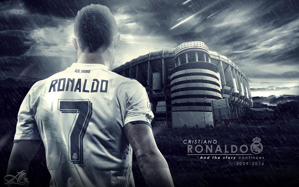 Cristiano Ronaldo Real Madrid 15 2016 Wallpaper By Designer Alateewish