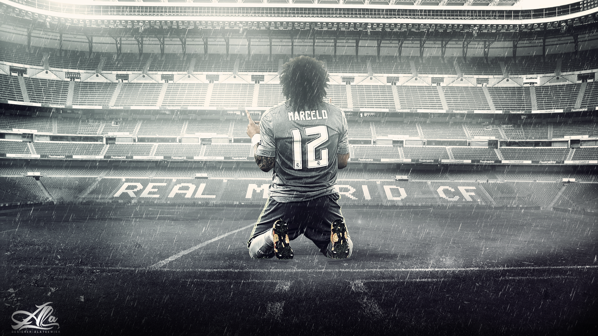 wallpaper Marcelo Vieira 15-2016 by designer-alateewish