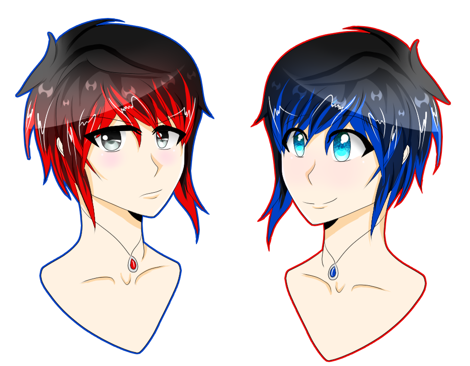 Twins by Key-of-Shadows