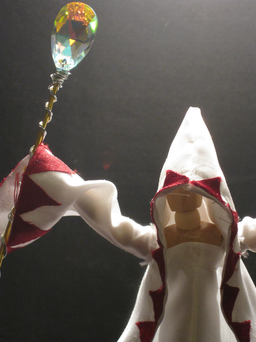 White Mage - Artisan Doll 1 by PaperCadence