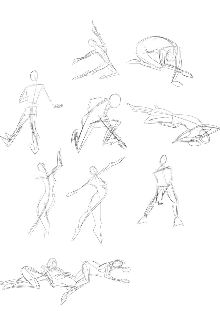 A Year of Gesture Drawing: 001/365 by TommyOliverDraws