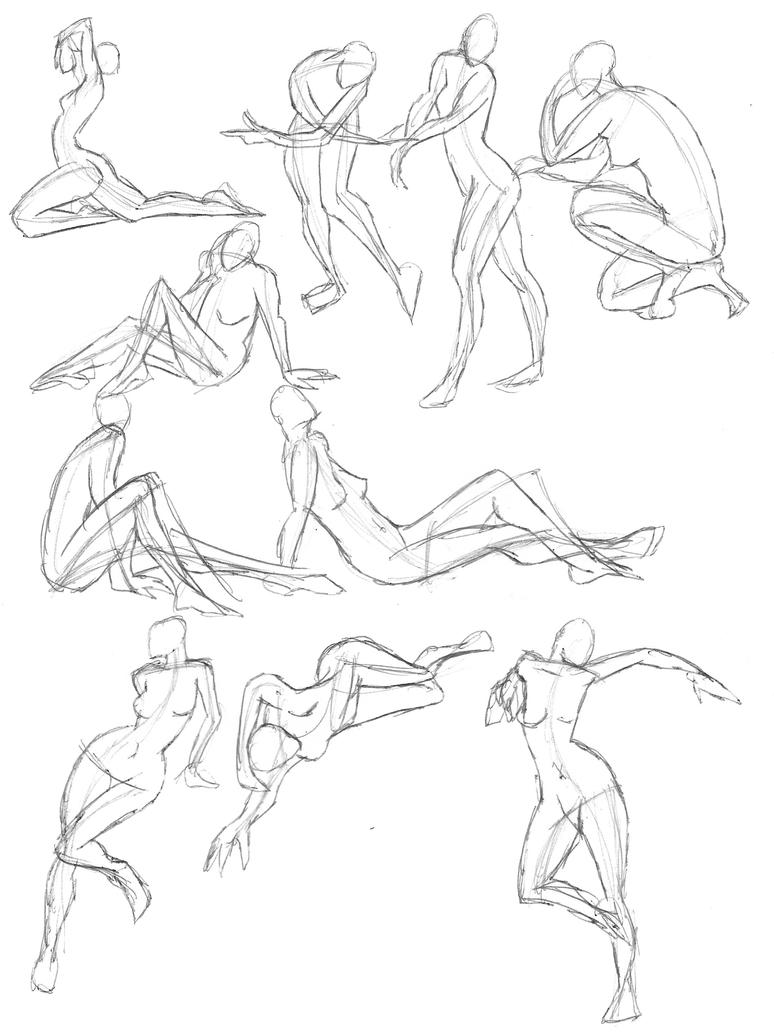 A Year of Gesture Drawing: 049/365 by TommyOliverDraws