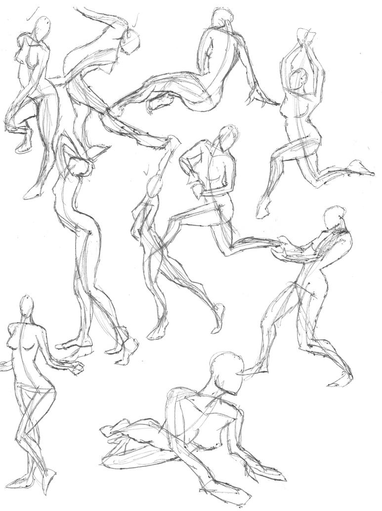 A Year of Gesture Drawing: 050/365 by TommyOliverDraws