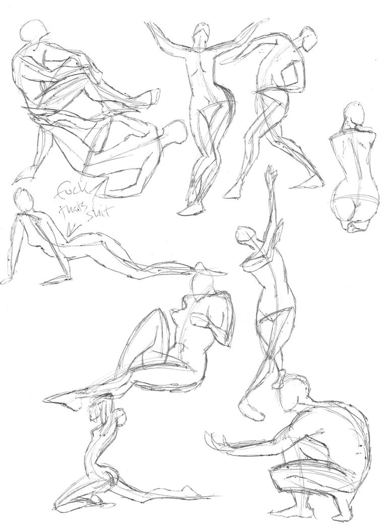 A Year of Gesture Drawing: 051/365 by TommyOliverDraws