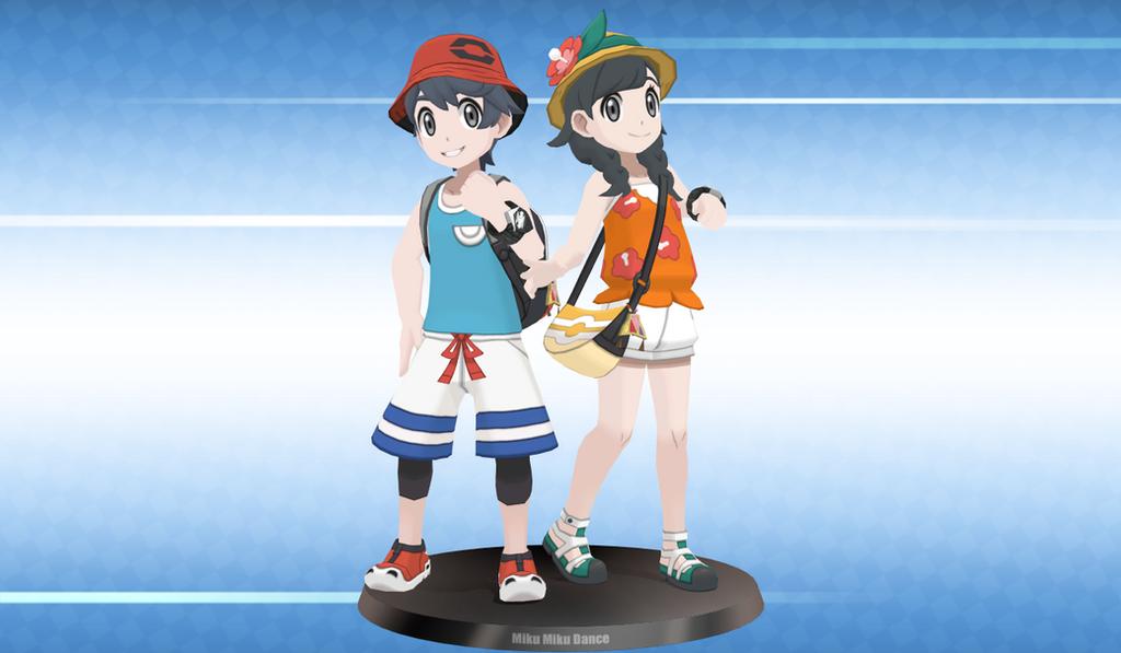 [ MMDxPokemon ] Pokemon Trainer (Alola) by Hendersony