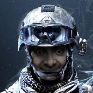 Battlefield 3 Mr. Bean by evertonmdz