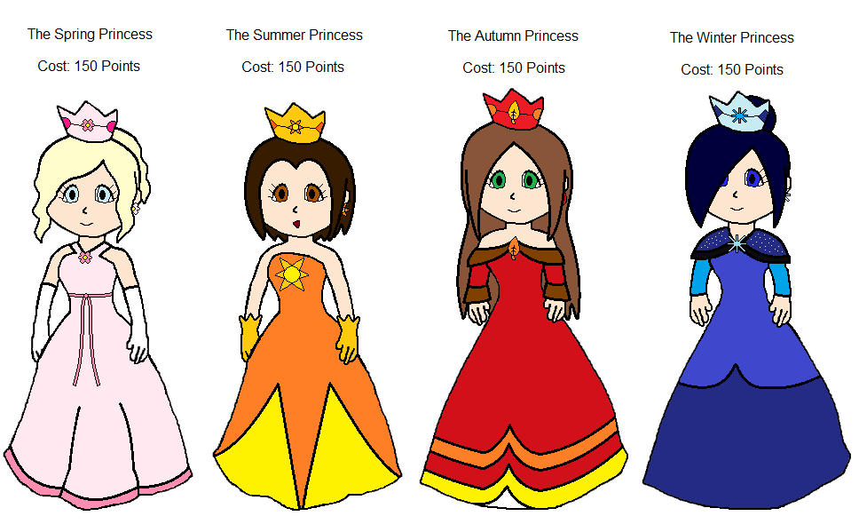 Mario Princess Season Adoptables Sold Out By Princessahagen On