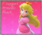 Princess Peach Stamp