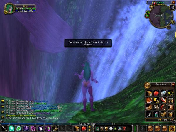 Waterfall Shower by tearsRsanity