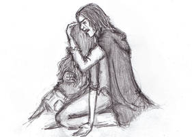 Please wake up, Snape and Lily by inthelaurels