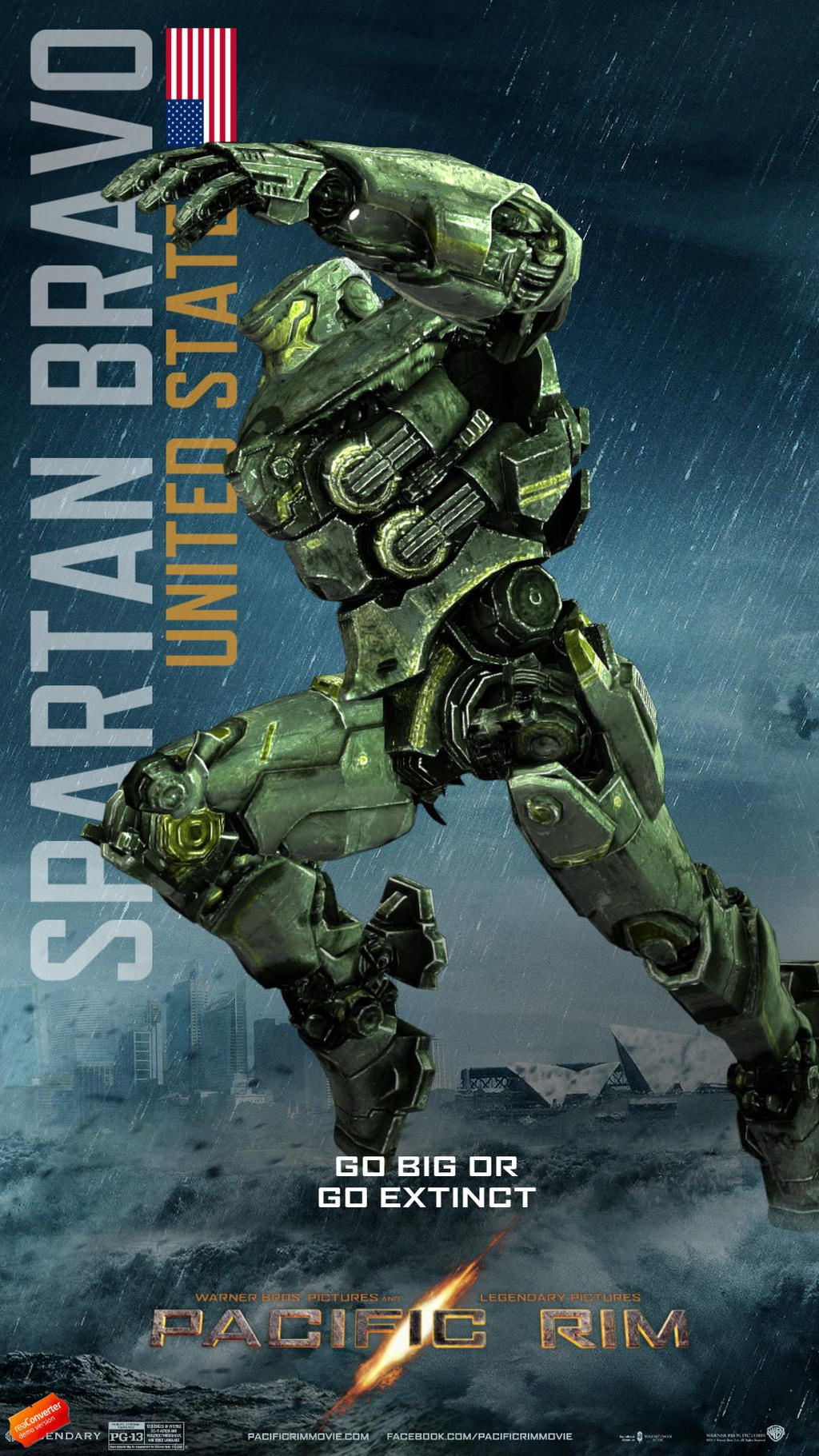 Pacific Rim - Spartan Bravo by BlackImpulse