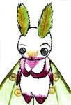 Luna Moth chibi