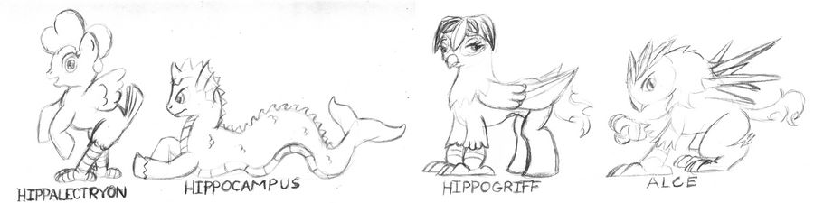 My Little Mythologies