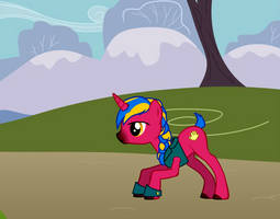Ponysona - Yellowbird the Unicorn