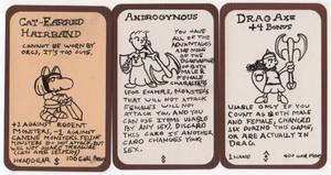 Custom Munchkin Cards by ayellowbirds