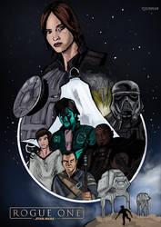 Rogue One A Star Wars Story (Fan Art)