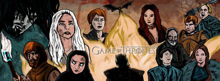 Game Of Thrones Season 6 Fanart